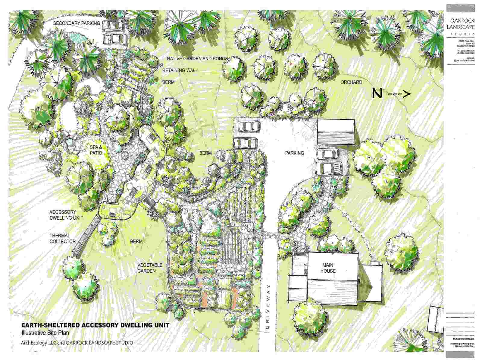 buildingcircles community home illustrative site plan courtesy of